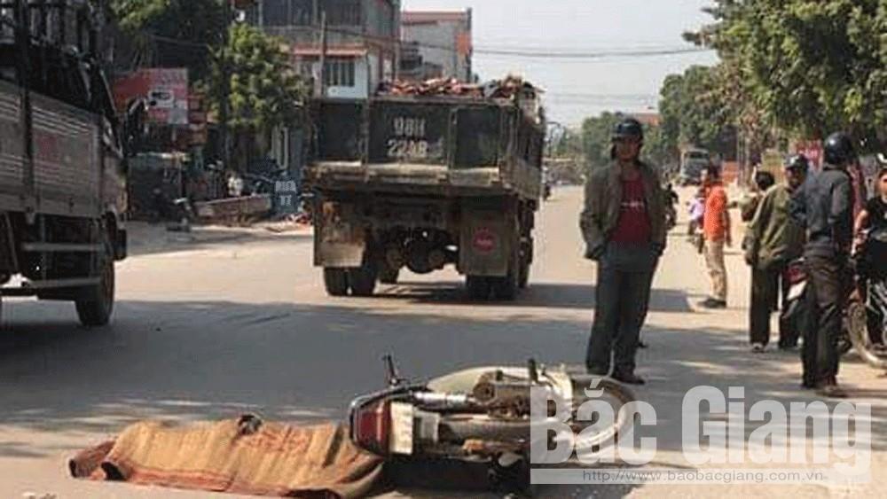 Lục Ngạn (Bắc Giang): Một người tử vong do tai nạn giao thông
